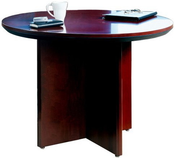 Mayline Corsica Series Round Conference Table [CTRND] -2