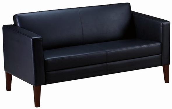 Mayline Prestige Series Leather Settee [VCL2] -1