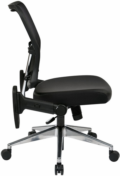 Office Star Mesh Back Chair with Folding Arms [213-E37P91F3] -2