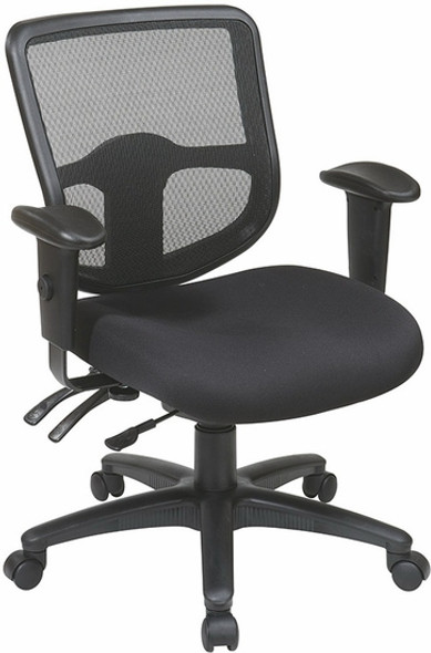 Office Star Adjustable Mesh Back Task Chair [98341] -2