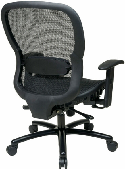 Office Star Big and Tall Mesh Back and Seat Office Chair [839-11B35WA] -2