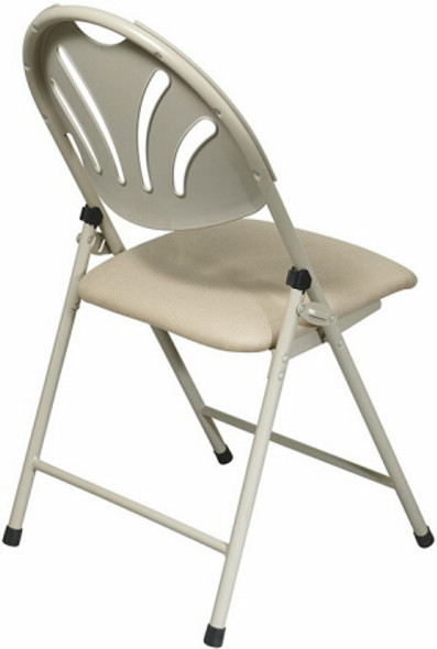 Office Star Fan Back Folding Chair [FC8100NBG] -2