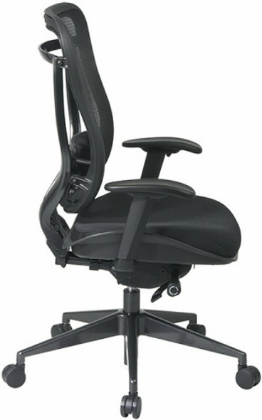 Office Star High Back Mesh Office Chair [818-31G9C18P] -2