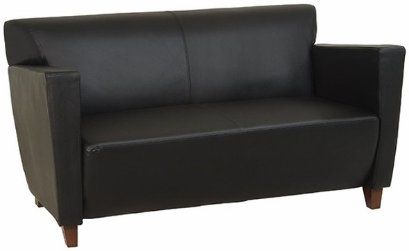 Office Star Fabric or Leather Loveseat [SL8472] -2