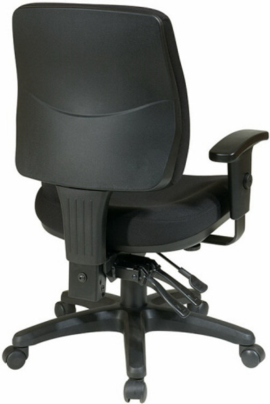 Office Star Mid Back Ergonomic Office Chair [33320] -2