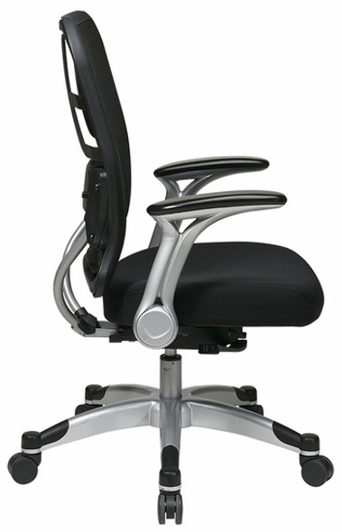 Office Star Self Adjusting Mesh Chair [215-3R2C62R5] -2