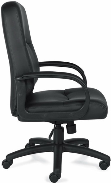 Offices To Go™ Executive Luxhide Leather Office Chair [11617B] -2