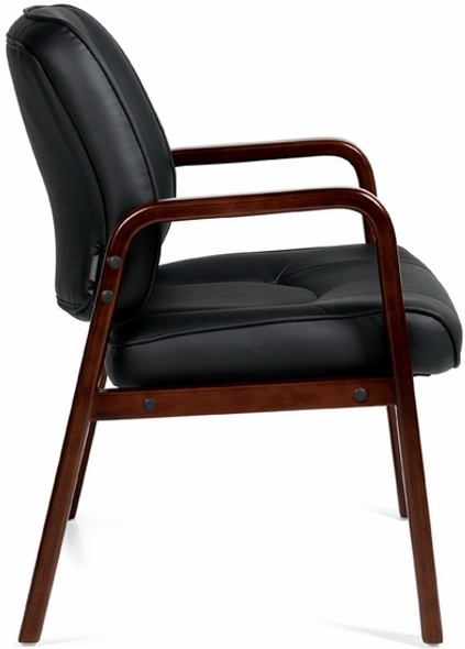 Offices To Go™ Luxhide Executive Guest Chair [11770] -2