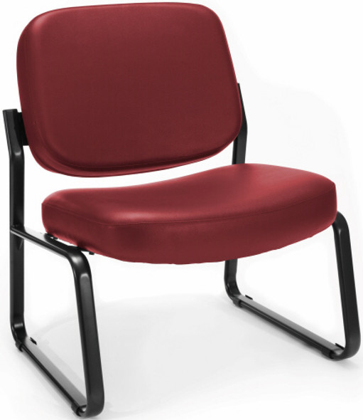 OFM Armless Big and Tall Vinyl Guest Chair [409-VAM] -2