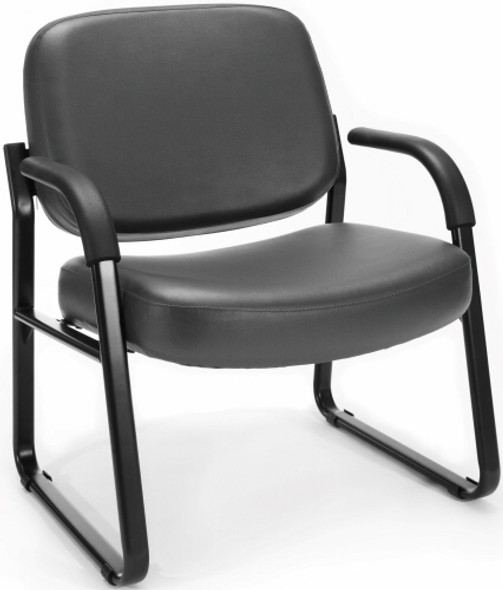 OFM Heavy Duty Vinyl Guest Chair with Arms [407-VAM] -1
