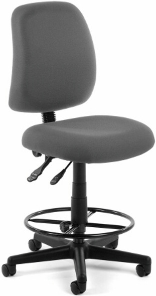 OFM High Back Drafting Stool [118-2-DK] -2