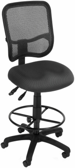 OFM Deluxe Screen Mesh Drafting Chair [130-DK] -2