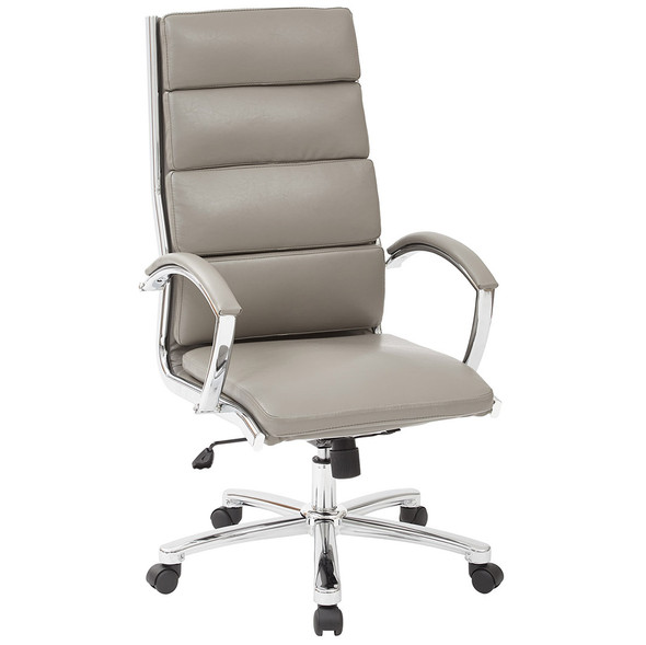 High Back Faux Leather Executive Chair [FL5380C] -2