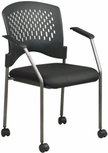 Plastic Back Stacking Chair [8610] -2