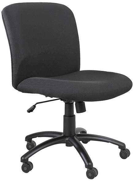 Safco 500 lb. Capacity Mid Back Office Chair [3491BL]