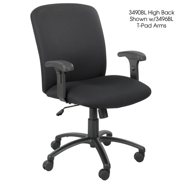 Safco High Back 500 lb. Weight Capacity Chair [3490BL]