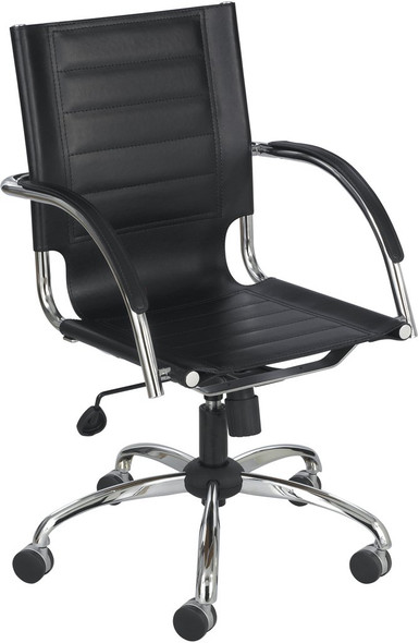 Safco Flaunt Contemporary Leather Office Chair [3456] -1