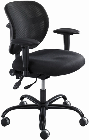 Safco Vue™ Mesh Big and Tall Chair [3397] -2