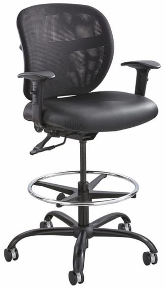 Safco Vue 24/7 Mesh Drafting Stool [3394BL] -2