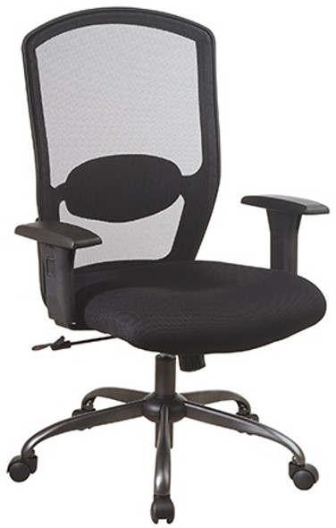 Office Star Screen Back Mesh Desk Chair [583713] -1