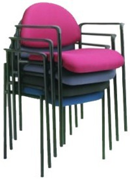 Stackable Steel Side Chair Without Arms [B9505] -2