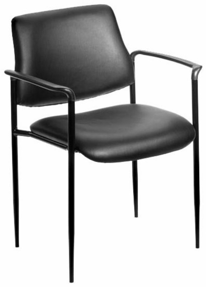 Boss Stacking Office Chair with Arms [B9503] -2