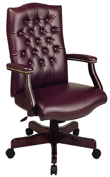 Traditional Executive Chair with Padded Arms [TEX232] -1