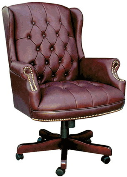 Boss Traditional Wingback Office Chair [B800] -2