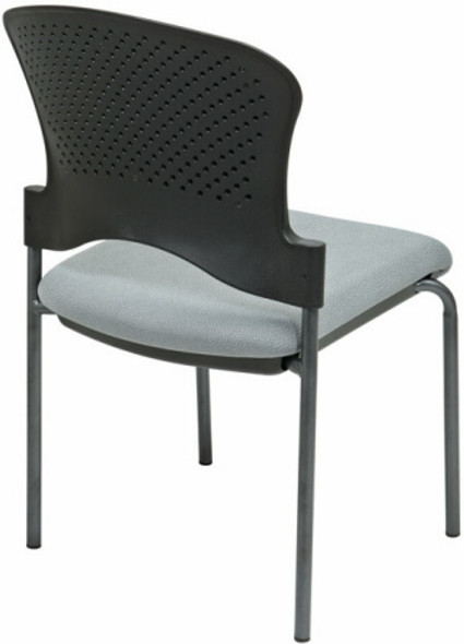 Upholstered Armless Stacking Chair [82720] -2