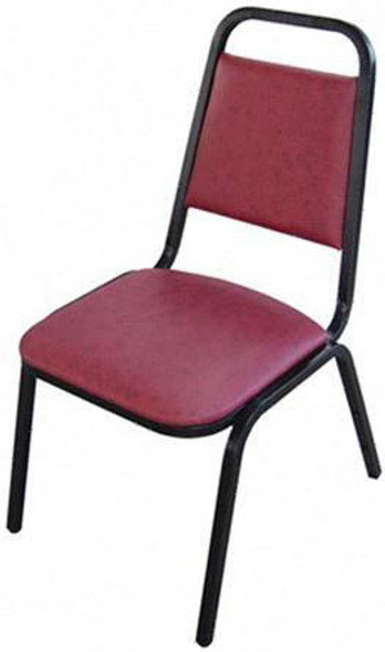Lorell Vinyl Stacking Chairs [62506] -2