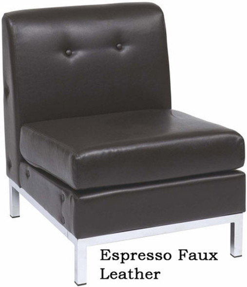 Wall Street Armless Modular Chair [WST51N] -2