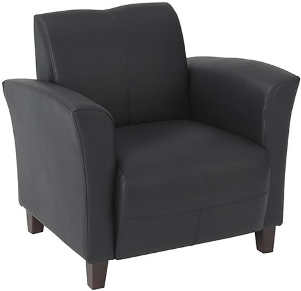 Wine Eco Leather Club Chair [SL2271] -2