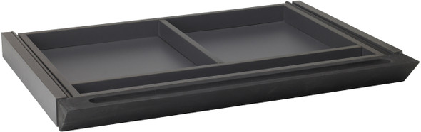 Mayline Brighton Center Drawer Black [ACDBLK]-1