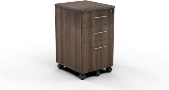 Mayline Medina Pedestal Box-Box-File Textured Brown Sugar [MNBBFTBS]-1