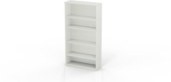 Mayline Medina Bookcase 5 Shelf Textured Sea Salt [MVB5TSS]-1
