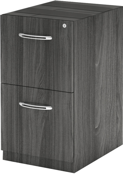 Mayline Aberdeen Desk FF Pedestal Gray Steel [AFF26LGS]-1