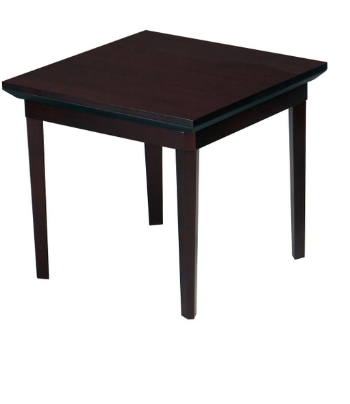Mayline End Table Veneer Mahogany Veneer [CTSMAH]-1