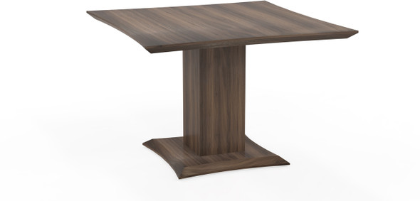 "Mayline Sterling 42"" Square Conference Table Textured Brown Sugar [STC42TBS]-1"