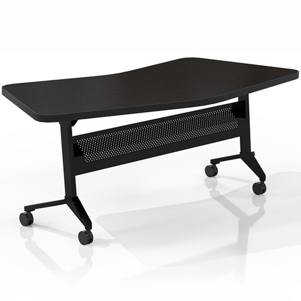 "Mayline Flip-N-Go 48""x24"" Transition Table Mocha [LT24TLDCM]-1"