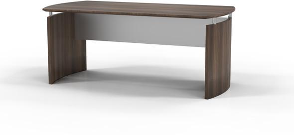 "Mayline Medina 72""W Desk Textured Brown Sugar Laminate [MND72TBS]-1"