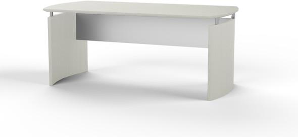 "Mayline Medina 72""W Desk Textured Sea Salt Laminate [MND72TSS]-1"
