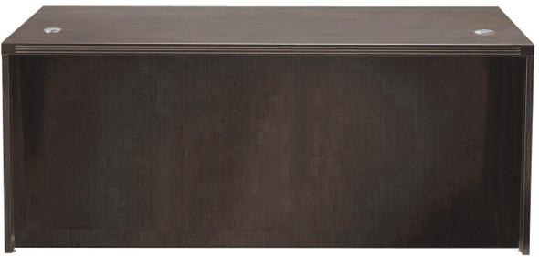 "Mayline Aberdeen 72"" Rectangular Desk Mocha [ARD7230LDC]-1"