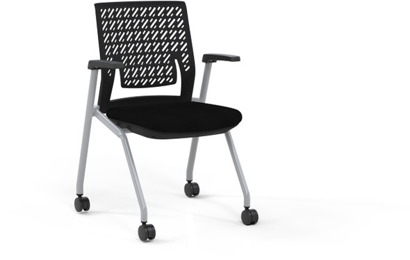 Mayline Thesis Training Chair Arms, Flex Back [KTX1SBBLK]-1