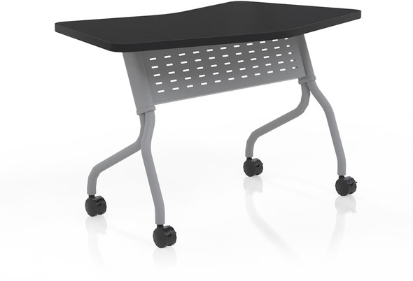 "Mayline Sync 24"" x 48"" Transition Table Anthracite [SYT24TANT]-1"