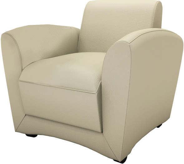 Mayline Santa Cruz Almond Mobile Lounge Chair [VCCMALM]-1