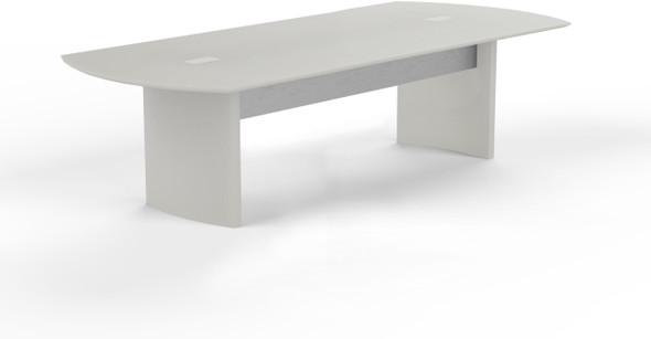 Mayline Medina Conference Table 8' Textured Sea Salt [MNC8TSS]-1
