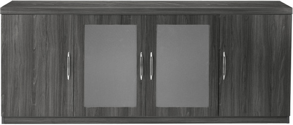 Mayline Aberdeen Low Wall Cabinet Gray Steel [ALCLGS]-1