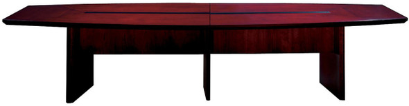 Mayline Corsica Conference Table Boat-Shaped Mahogany [CMT14MAH]-1