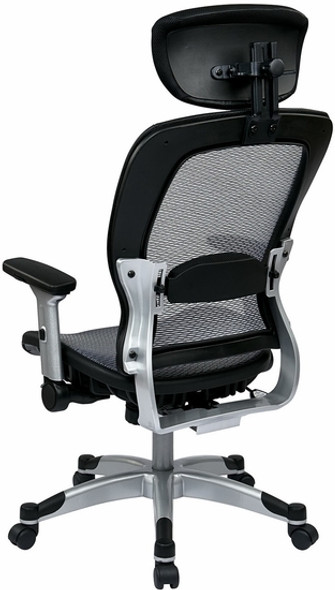 Office Star Air Grid All Mesh Office Chair [327-66C61F6] -4