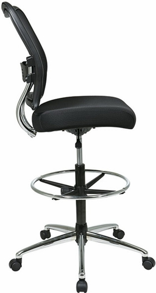 Air Grid Back Mesh Drafting Stool [13-37P500D] -2